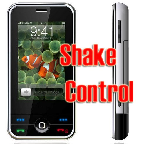 Unlocked CECT A380i  iPhone Style PDA SmartPhone MP3 MP4 Free Shipping!