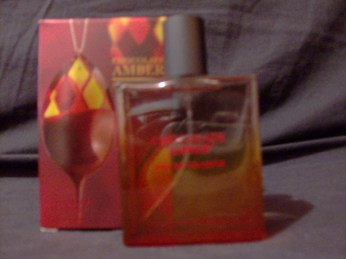 2 Bath & Body Works Chocolate Amber Perfume Fast Ship