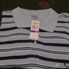 NWT Chaps Blue Golf Polo Shirt Size 2X Ralph Lauren XX