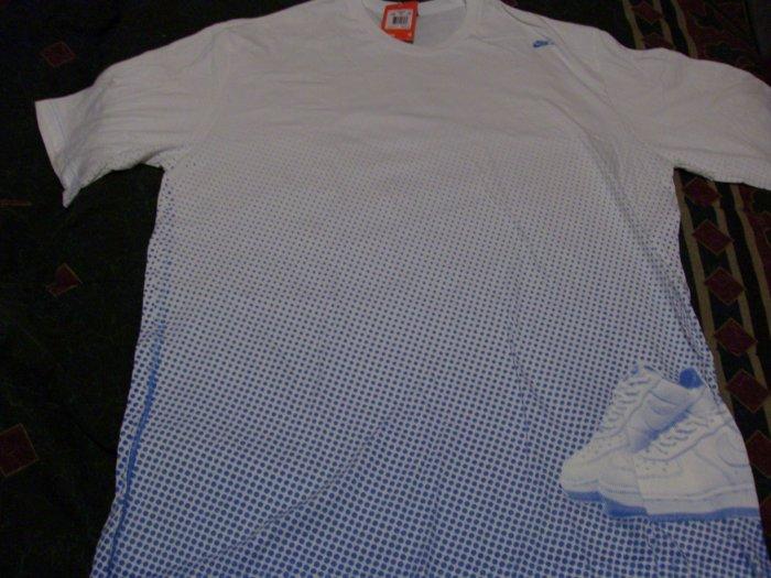 NWT Rare Nike Sneaker Short Sleeve Shirt Size 4X, XXXX