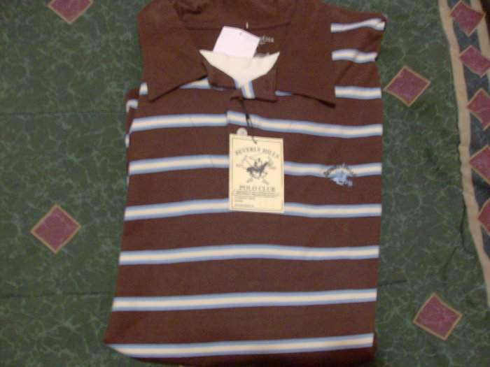 NWT Beverly Hills Polo Club Shirt Sz 2XL Layered