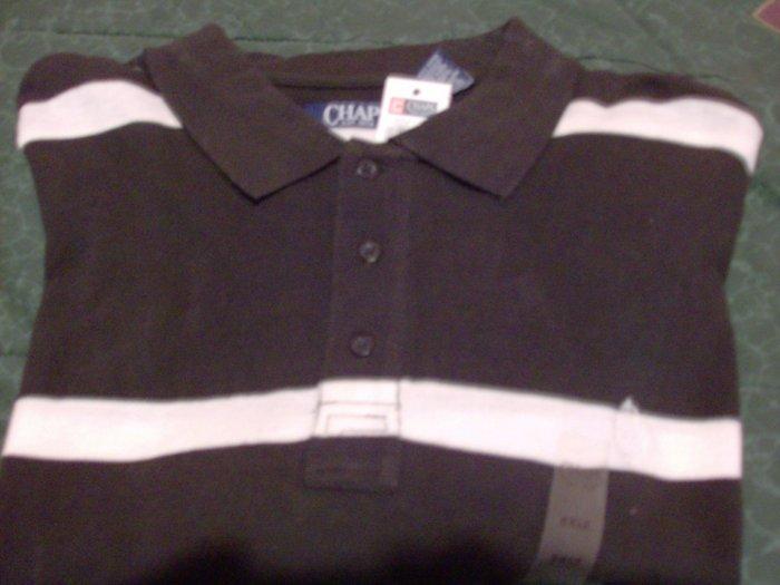 NWT Chaps Golf Polo Shirt Size 2XLT 2X Big & Tall Blue