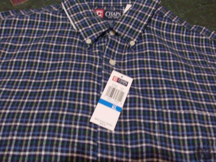 NWT Rare Chaps Flannel Shirt Sz XL Ralph Lauren
