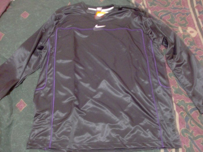 NWT Nike Black Warm Up Exercise Shirt Sz. 2X