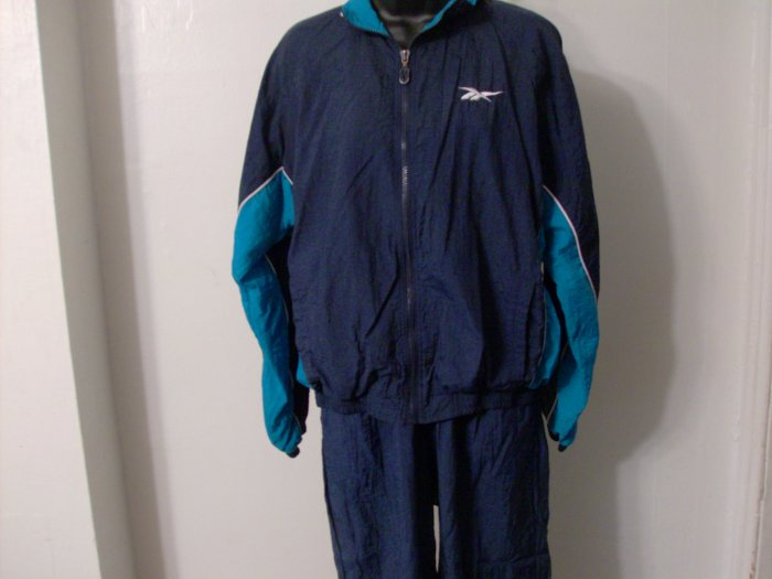 Women's Reebok Blue Sweat Suit SZ.L