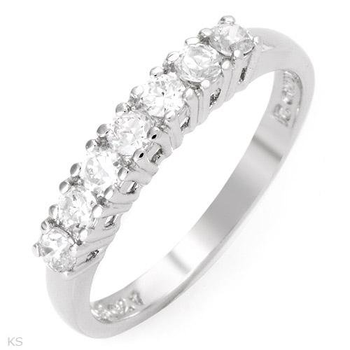 5 stone 1.75 ctw Cubic Zirconia Engagement Ring Size 6