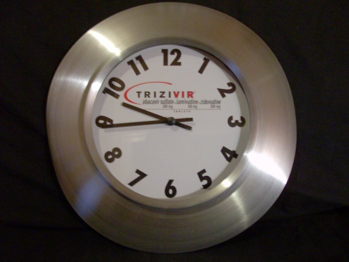 New Medical / Drug Themed Trizivir Clock