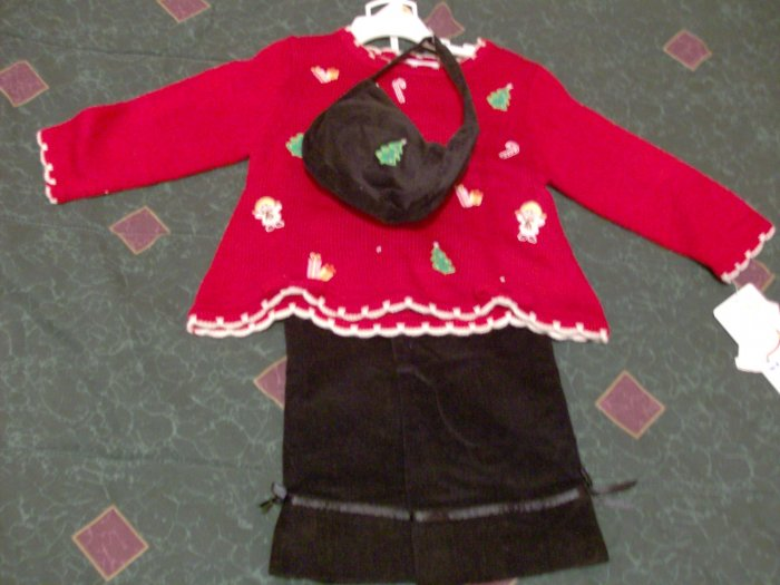 Irresistible BT Kids Chirstmas Set with Purse 2T