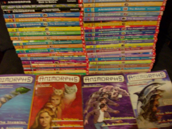 Animorphs Book Lot 1-41, Megamorphs, Chronicles, Meet The Start, Alternamorphs
