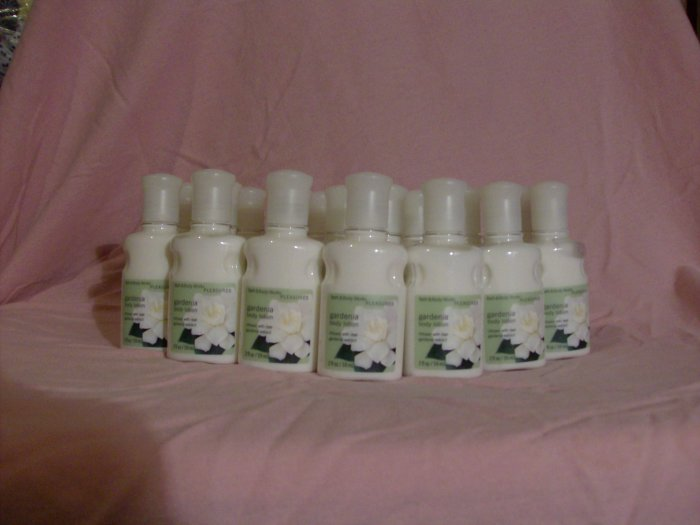 Bath and Body Works Gardenia Body Lotion (10 bottles)