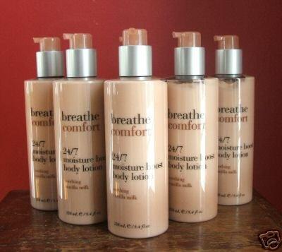 5 Bath & Body Works Breathe Comfort Vanilla Milk Lotion