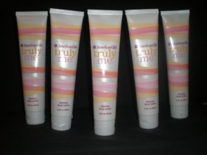 5 Bath and Body Works American Girl Truly Me Shimmer Lotions