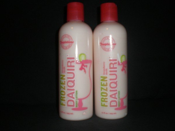 2 Bath and Body Works Temptations Frozen Strawberry Daiquiri Lotions