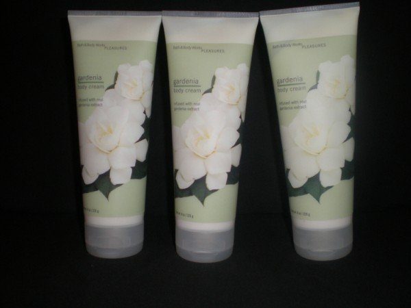 3 Bath and Body Works Gardenia Body Cream