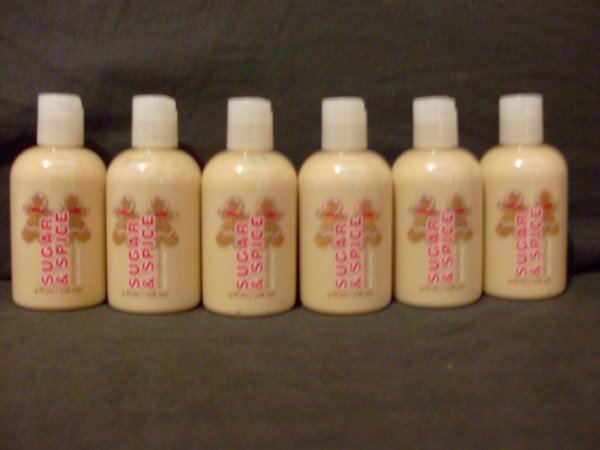 Bath and Body Works Sugar and Spice Body Lotion x6