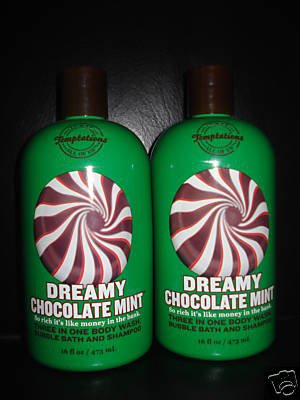 Bath and Body Works Dreamy Chocolate Mint 3 in 1 Gel x2