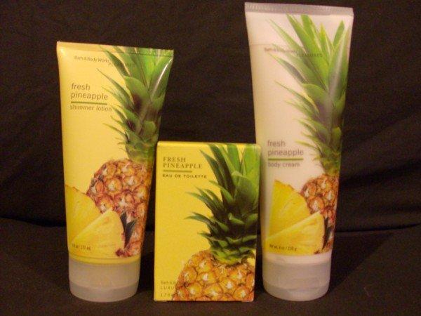 Bath and Body Works Fresh Pineapple Set