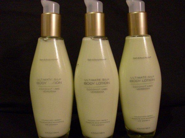 Bath and Body Works Coconut Lime Verbana Silk Lotion
