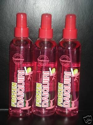 3 Bath and Body Works Temptations Frozen Strawberry Daiquiri Body Splash
