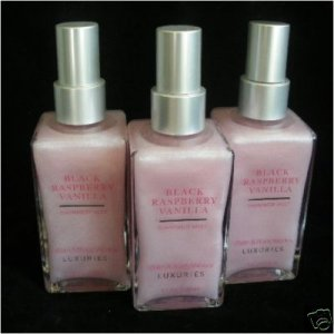 Bath and Body Works Black Raspberry Vanilla Shimmer Mist x2