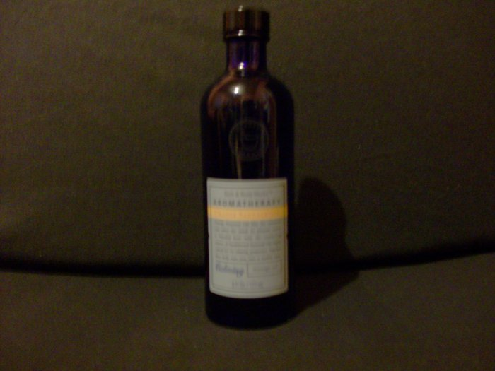 Bath and Body Works Orange Sandalwood Massage Oil