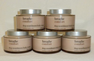 3 Bath and Body Works Breathe Comfort Body Cream