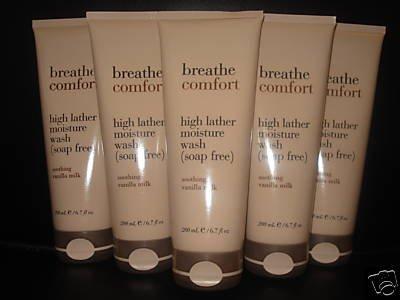 Bath and Body Works Breathe Comfort Body Wash x3