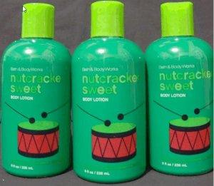 Bath and Body Works Nutcracker Sweet Lotion x3