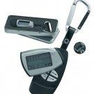 Eletronic golf scorer and golf ball marker