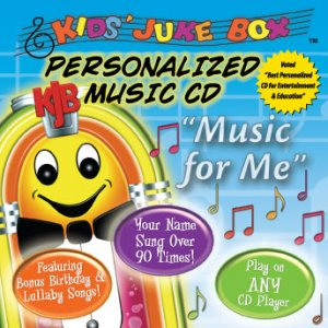 """""""Music For Me"""" Personalized Children's CD"""