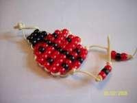 Beaded Ladybug