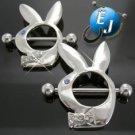 Bunny Rabbit Nipple Rings Body Jewelry New