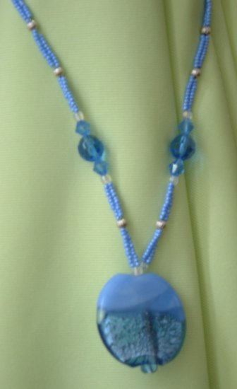Periwinkle Paradise Necklace