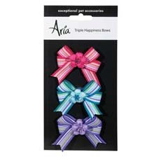 Aria Triple Happiness Bows