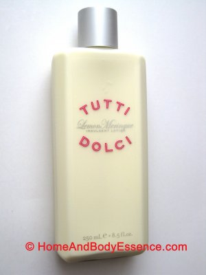 Tutti Dolci Lemon Meringue Indulgent Body Lotion/Cream Fragrance Bath & Body Works Victoria's Secret