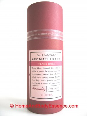 Bath & Body Works Ylang Rose Body Essence/Perfume Fragrance Mist Spray Sensuality Aromatherapy 4 oz