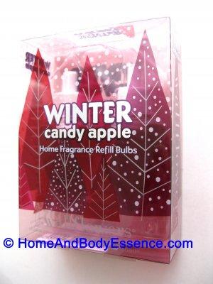 2 Bath & Body Works Winter Candy Apple Wallflowers Refill Bulbs for Slatkin Home Fragrance Diffuser