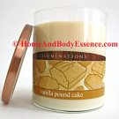 Illuminations Vanilla Pound Cake Candle Scented Home Fragrance Fragranced Jar Tumbler 19 oz