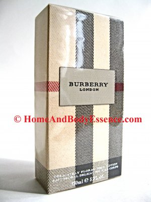Burberry London Floral Body Lotion Delicately Moisturizer Perfumed Perfume/Fragrance Scented :  body creams lotions beauty fragrances burberry perfumed body lotion health beauty personal care cosmetics skin care lotion