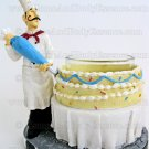 Yankee Candle Chef Votive Holder Pastry Bistro Baker Decorating Cake Home Fragrance Decor