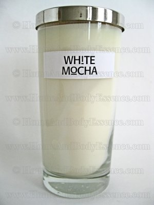 Archipelago White Mocha Scented Candle Large Excursion Fragranced Filled Jar AB Home Fragrance