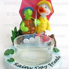 Yankee Candle Duck Turtle Tea Light Holder Rainy Day Friends Tealight Home Fragrances Decor