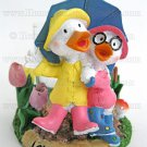 Yankee Candle Ducks Votive Holder Love In Bloom Rainy Day Friends Home Fragrance Decor
