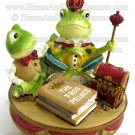 Yankee Candle Frog Prince Housewarmer Topper Lid for Large Medium Jar Home Decor