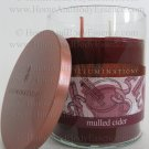 Illuminations Mulled Cider Scented Candle Fragranced Jar 2 Wicks Tumbler Home Fragrance Decor 17 oz