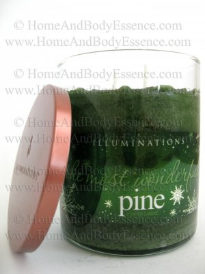 Illuminations Most Wonderful Pine Candle Scented Fragranced Jar Tumbler Twin Light Home Fragrance