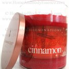 Illuminations Most Wonderful Cinnamon Candle Scented Fragranced Tumbler Twin Light Home Fragrance