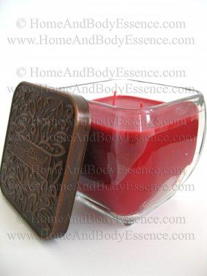 Harry & David Mulled Apple Cider Candle Scented Fragranced Filled Jar Home Fragrance Decor 18 oz