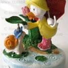 Yankee Candle Duck Snail Topper Lid Rainy Day Friends for Large Medium Jar Home Decor