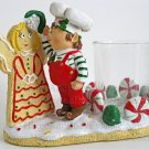 Yankee Candle Elf Angel Kiss Votive Holder Christmas Gingerbread Cookie Santa's Helper Mistletoe